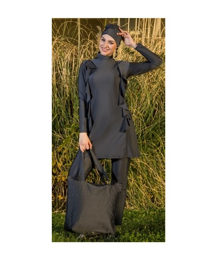 Burkini-Dark gray covering...