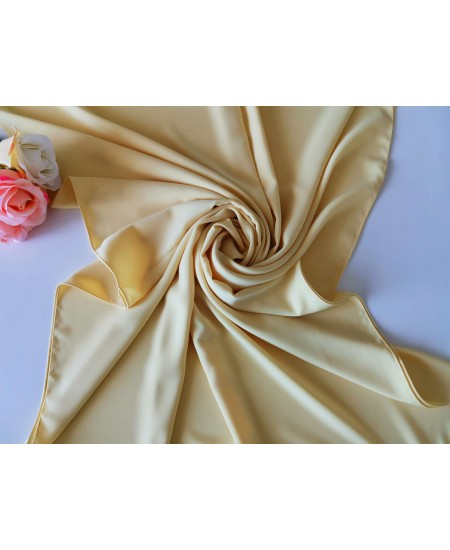 Medina Silk Shawl yellow