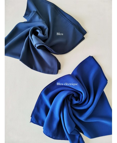 Medine Silk navy blue