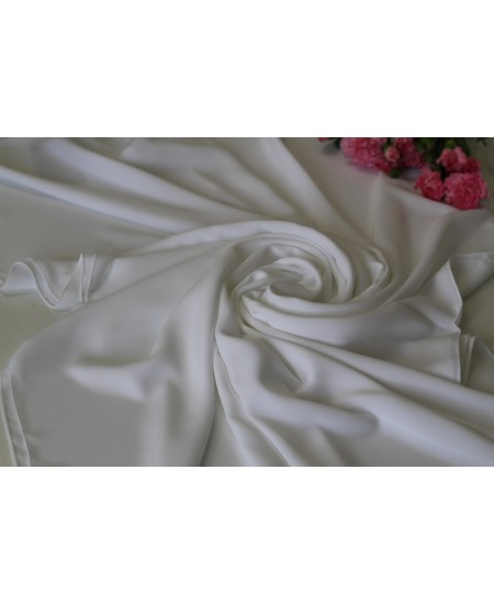 Medina Silk Shawl White